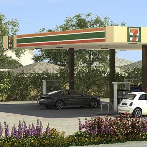 04 7-Eleven Gas Station and Convenience Store