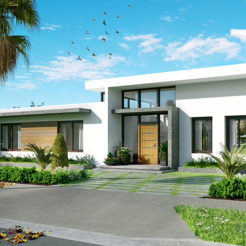 360° Palm Grove Front Entry